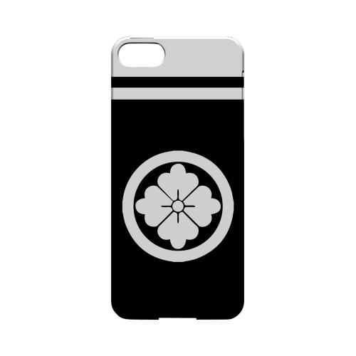 White Hanabishi Kamon w/ Stripe - Geeks Designer Line Tattoo Series Hard Case for Apple iPhone 5/5S