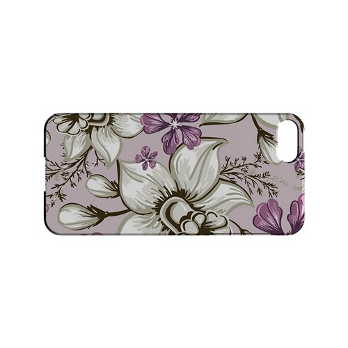 White and Violet Orchids - Geeks Designer Line Floral Series Hard Case for Apple iPhone 5/5S