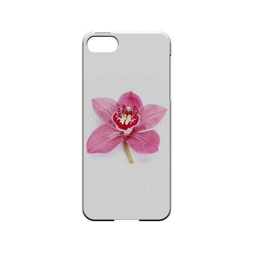 Single Pink Orchid Flower - Geeks Designer Line Floral Series Hard Case for Apple iPhone 5/5S