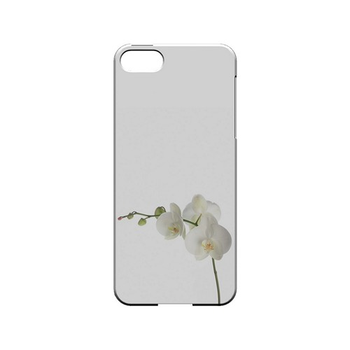 Simple White Orchid - Geeks Designer Line Floral Series Hard Case for Apple iPhone 5/5S