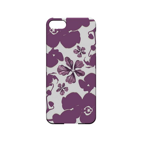 Purple Orchids - Geeks Designer Line Floral Series Hard Case for Apple iPhone 5/5S
