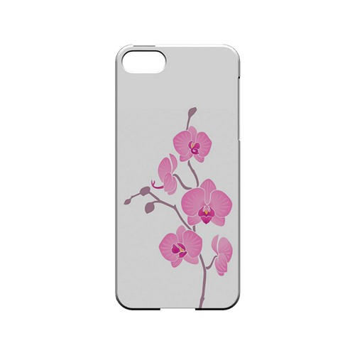 Pink Minimal Orchid Art - Geeks Designer Line Floral Series Hard Case for Apple iPhone 5/5S