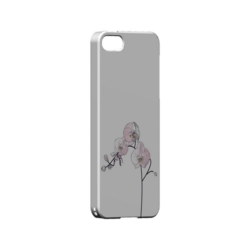 Lonely Orchid - Geeks Designer Line Floral Series Hard Case for Apple iPhone 5/5S