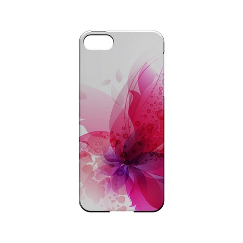 Hot Pink Orchid Swoosh Fade - Geeks Designer Line Floral Series Hard Case for Apple iPhone 5/5S