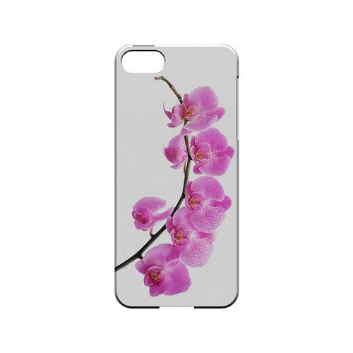 Hot Pink Orchid Curved Branch - Geeks Designer Line Floral Series Hard Case for Apple iPhone 5/5S