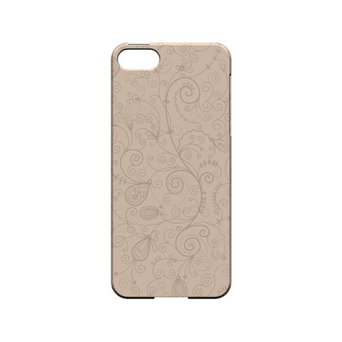 Floral 1 Linen - Geeks Designer Line Pantone Color Series Hard Case for Apple iPhone 5/5S