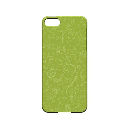 Floral 1 Tender Shoots - Geeks Designer Line Pantone Color Series Hard Case for Apple iPhone 5/5S