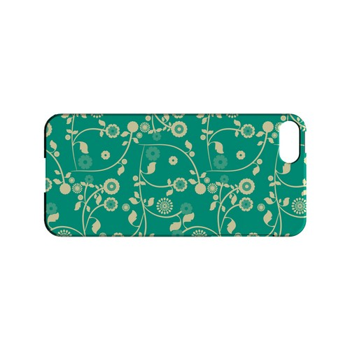 Floral 2 Emerald - Geeks Designer Line Pantone Color Series Hard Case for Apple iPhone 5/5S