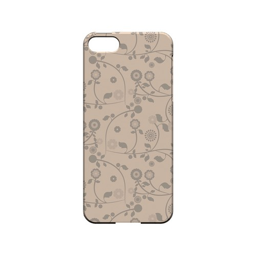 Floral 2 Linen - Geeks Designer Line Pantone Color Series Hard Case for Apple iPhone 5/5S