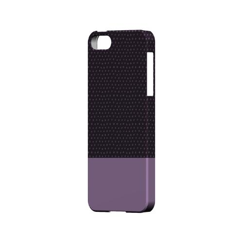 Little Circle Dots African Violet - Geeks Designer Line Pantone Color Series Hard Case for Apple iPhone 5/5S