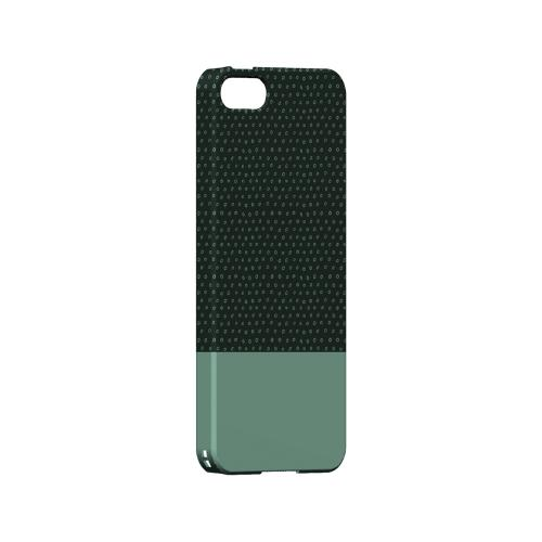Little Circle Dots Grayed Jade - Geeks Designer Line Pantone Color Series Hard Case for Apple iPhone 5/5S