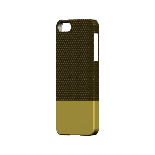 Little Circle Dots Lemon Zest - Geeks Designer Line Pantone Color Series Hard Case for Apple iPhone 5/5S