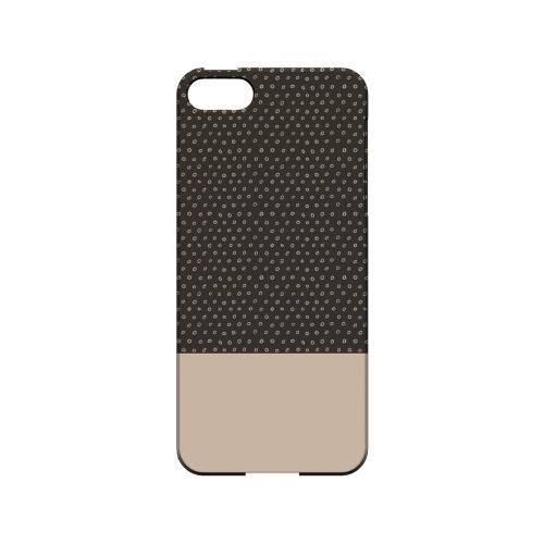 Little Circle Dots Linen - Geeks Designer Line Pantone Color Series Hard Case for Apple iPhone 5/5S