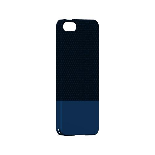 Little Circle Dots Monaco Blue - Geeks Designer Line Pantone Color Series Hard Case for Apple iPhone 5/5S