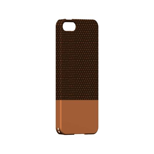 Little Circle Dots Nectarine - Geeks Designer Line Pantone Color Series Hard Case for Apple iPhone 5/5S