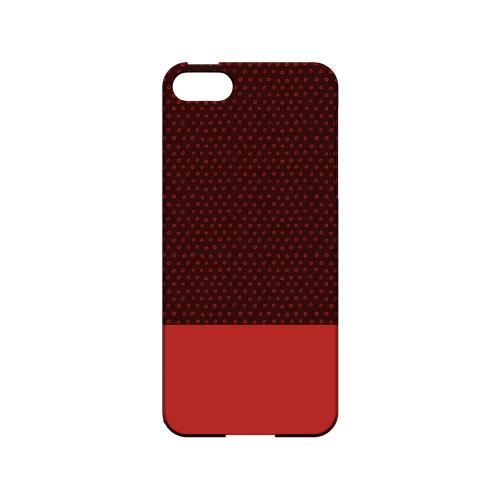 Little Circle Dots Poppy Red - Geeks Designer Line Pantone Color Series Hard Case for Apple iPhone 5/5S