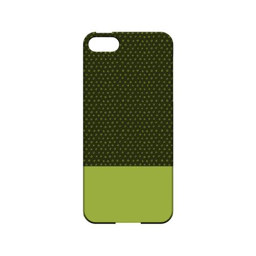 Little Circle Dots Tender Shoots - Geeks Designer Line Pantone Color Series Hard Case for Apple iPhone 5/5S