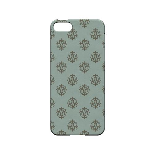 Ornamental Dusk Blue - Geeks Designer Line Pantone Color Series Hard Case for Apple iPhone 5/5S