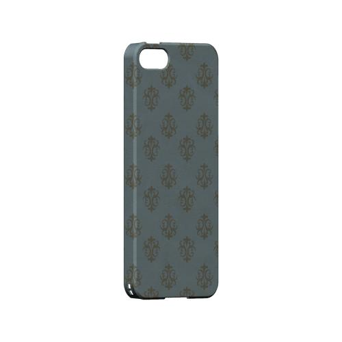Ornamental Monaco Blue - Geeks Designer Line Pantone Color Series Hard Case for Apple iPhone 5/5S