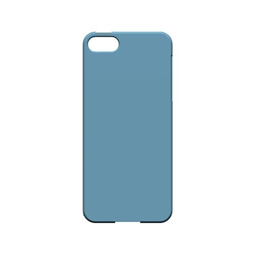 S13 Pantone Dusk Blue - Geeks Designer Line Pantone Color Series Hard Case for Apple iPhone 5/5S