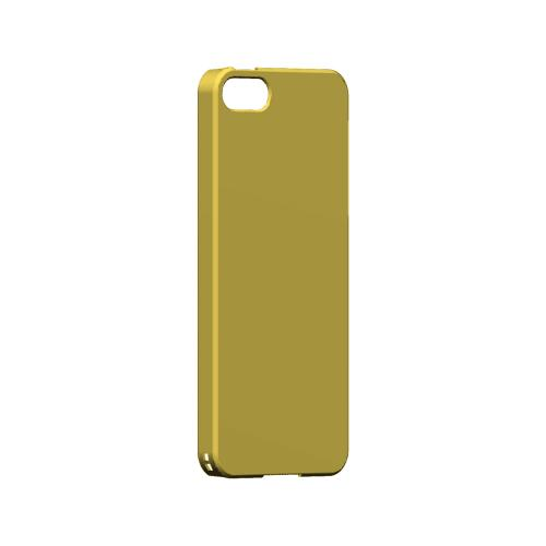 S13 Pantone Lemon Zest - Geeks Designer Line Pantone Color Series Hard Case for Apple iPhone 5/5S