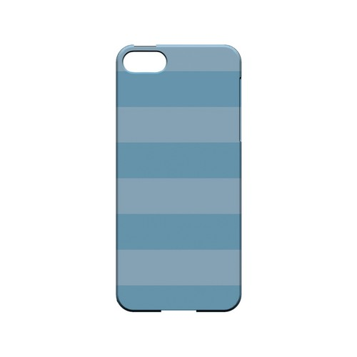 Stripes Dusk Blue - Geeks Designer Line Pantone Color Series Hard Case for Apple iPhone 5/5S
