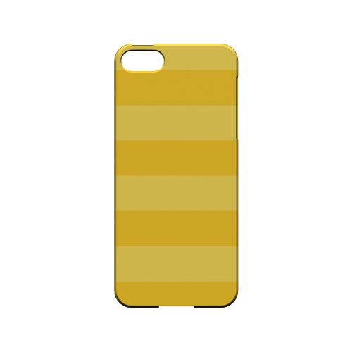 Stripes Lemon Zest - Geeks Designer Line Pantone Color Series Hard Case for Apple iPhone 5/5S