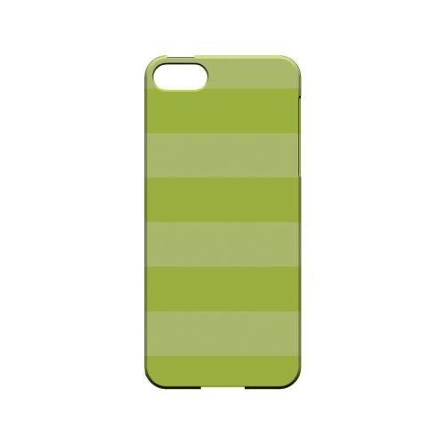 Stripes Tender Shoots - Geeks Designer Line Pantone Color Series Hard Case for Apple iPhone 5/5S