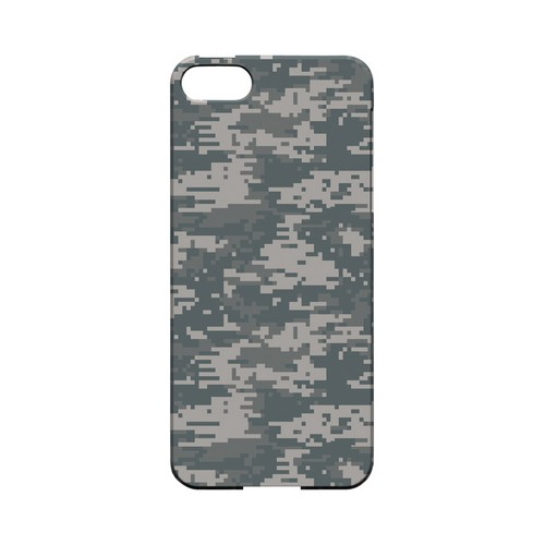 Gray Digital Camouflage - Geeks Designer Line Slim Back Cover for Apple iPhone 5/5S