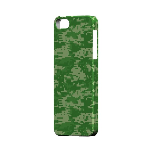Green Digital Camouflage - Geeks Designer Line Slim Back Cover for Apple iPhone 5/5S