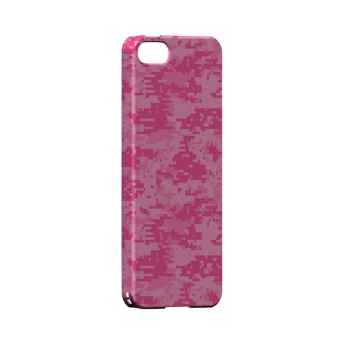 Pink Digital Camouflage - Geeks Designer Line Slim Back Cover for Apple iPhone 5/5S