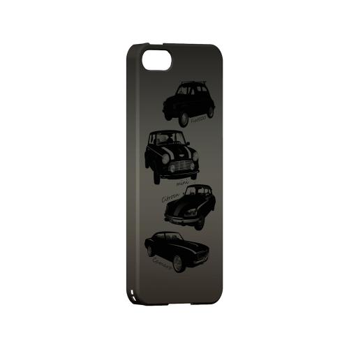 Classic Cars Fiat  Mini  Citroen  & Camaro - Geeks Designer Line Auto Series Hard Case for Apple iPhone 5/5S