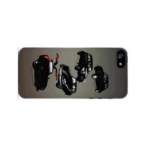 Classic Euro Cars Fade - Geeks Designer Line Auto Series Hard Case for Apple iPhone 5/5S