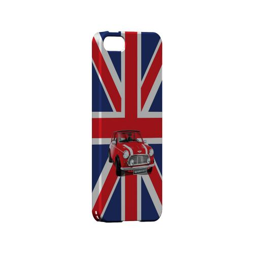 Solo Mini Cooper on Union Jack - Geeks Designer Line Auto Series Hard Case for Apple iPhone 5/5S