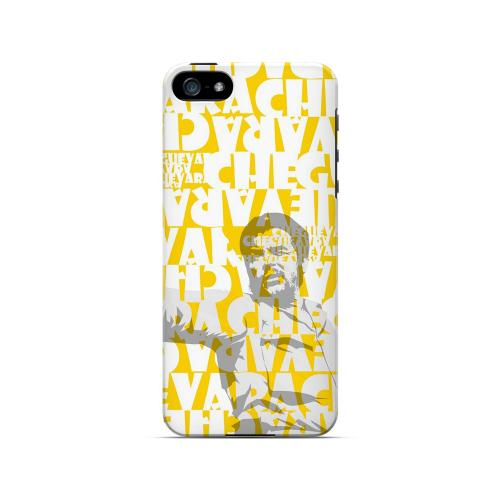 Che Guevara Discurso Faded Yellow - Geeks Designer Line Revolutionary Series Hard Case for Apple iPhone 5/5S