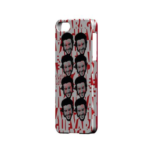 Che Guevara Happy Revolutionary Multi-Face on Red - Geeks Designer Line Revolutionary Series Hard Case for Apple iPhone 5/5S