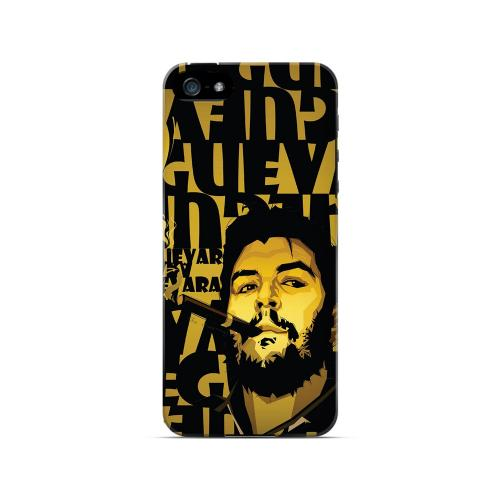 Che Guevara Smoke Gold - Geeks Designer Line Revolutionary Series Hard Case for Apple iPhone 5/5S