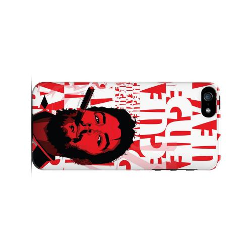 Che Guevara Smoke Red - Geeks Designer Line Revolutionary Series Hard Case for Apple iPhone 5/5S