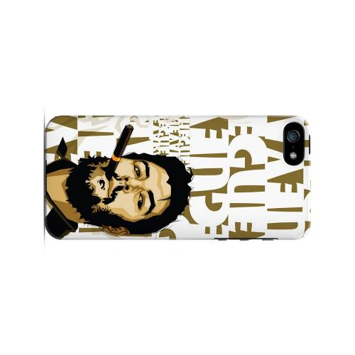 Che Guevara Smoke White Letters - Geeks Designer Line Revolutionary Series Hard Case for Apple iPhone 5/5S