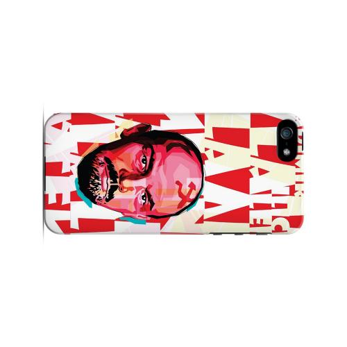 Lenin Complex on Red - Geeks Designer Line Revolutionary Series Hard Case for Apple iPhone 5/5S