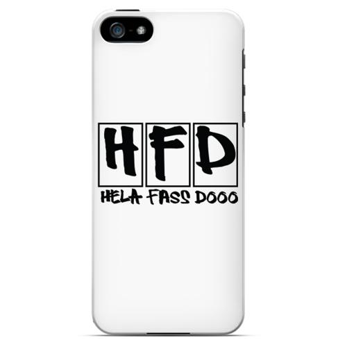 HFD Logo Hard Plastic Case for Apple iPhone 5/5S