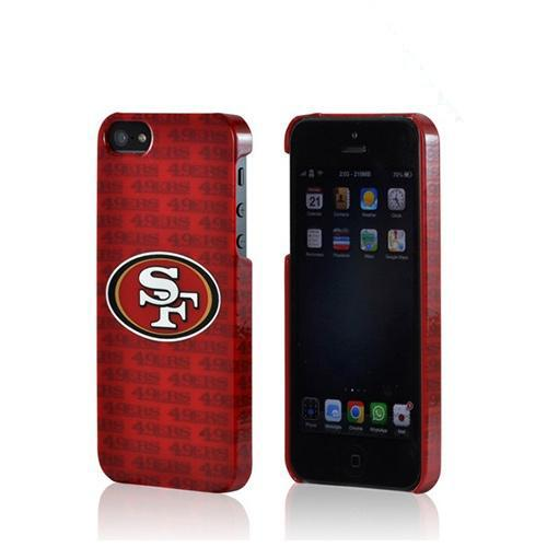 San Francisco 49ers Hard Case for Apple iPhone 5/5S - NFL Licensed