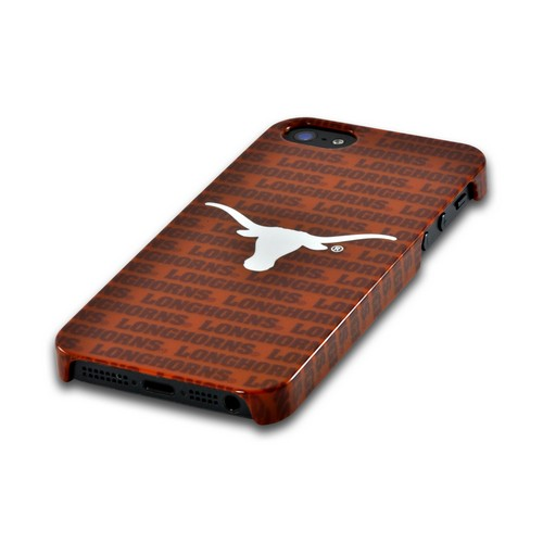 Texas Longhorns Hard Case for Apple iPhone 5/5S - NCAA Licensed