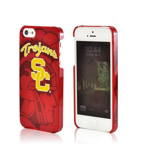 USC Trojans Hard Case for iPhone 5/5S - NCAA Licensed