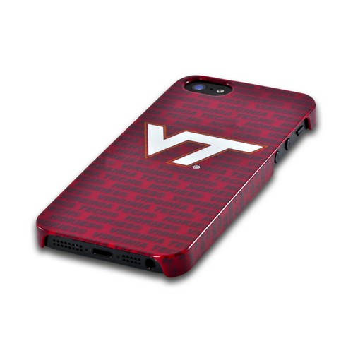 Virginia Tech Hokies Hard Case for Apple iPhone 5/5S - NCAA Licensed