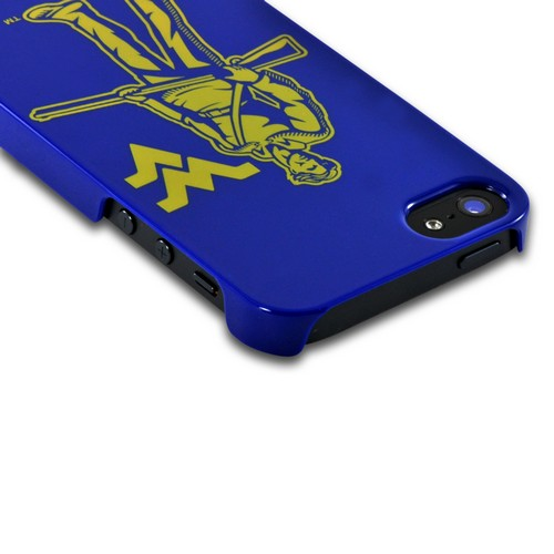 West Virginia Mountaineers Hard Case for Apple iPhone 5/5S - NCAA Licensed
