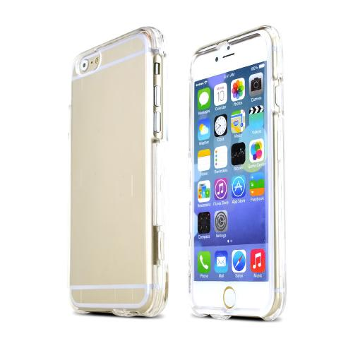 "Clear Plastic Hard Case Cover for Apple iPhone 6 (4.7"")"