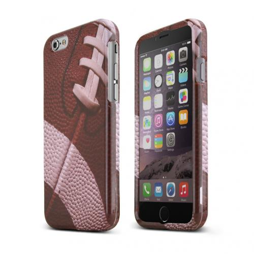 Apple iPhone 6/ 6S Case,  [Football Design]  Slim & Protective Crystal Glossy Snap-on Hard Polycarbonate Plastic Case Cover