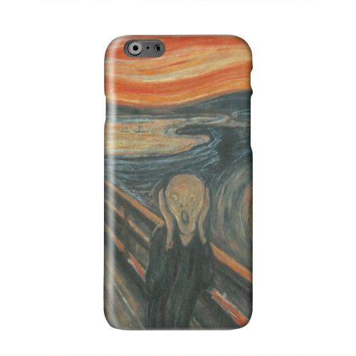 Edward Munch The Scream Solid White Hard Case Cover for Apple iPhone 6 PLUS/6S PLUS (5.5 inch)
