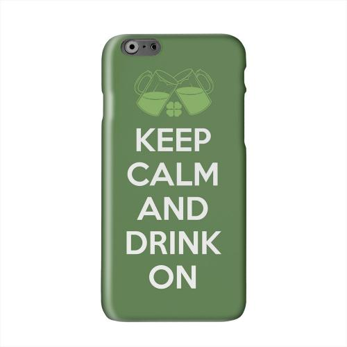Drink On Solid White Hard Case Cover for Apple iPhone 6 PLUS/6S PLUS (5.5 inch)